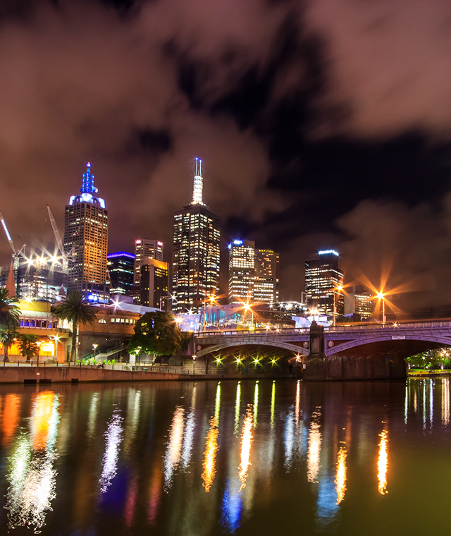 New Years Eve in Melbourne