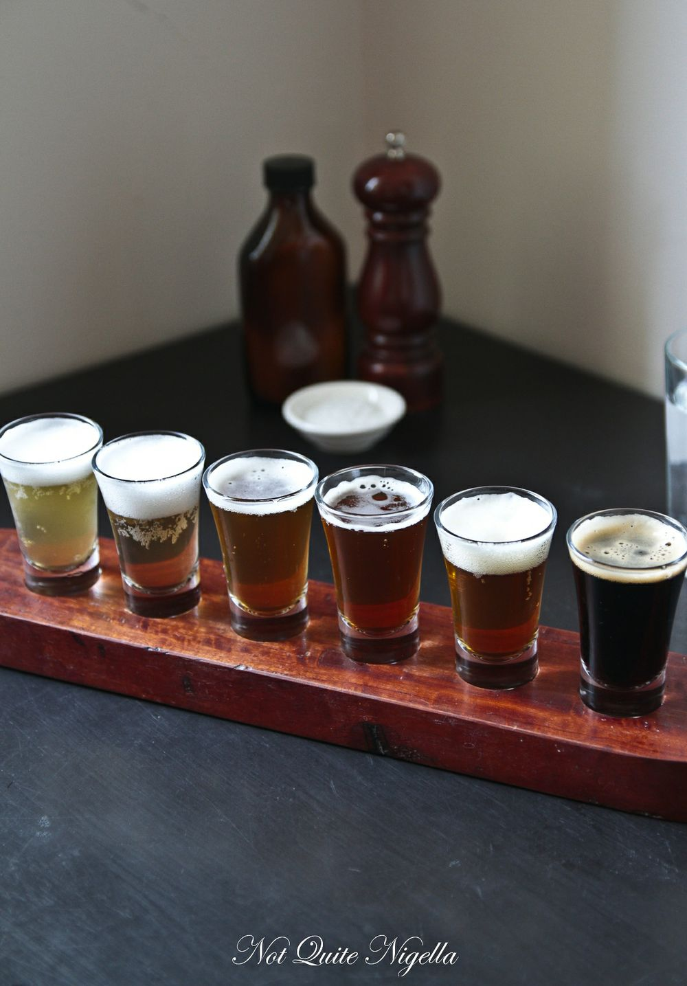 Hargreaves Hill Brewery Tasting Paddle